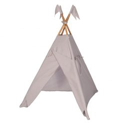 tipi-taupe-etoiles-blanches-n74