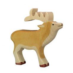 cerf-en-bois-holztiger-renne
