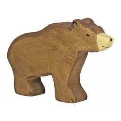ours-brun-bois-holztiger-papa