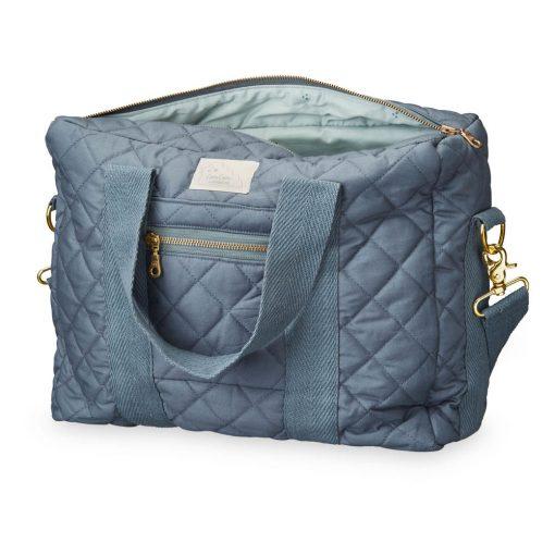sac langer matelass gris bleut camcam so boh me. Black Bedroom Furniture Sets. Home Design Ideas