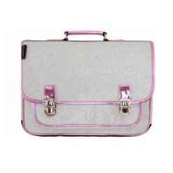 cartable-medium-argent-paillettes-retro