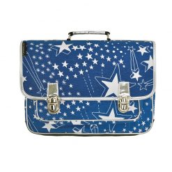 cartable-medium-etoiles-bleu