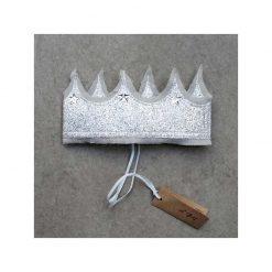 numero-74-couronne-de-princesse-argent pailletee