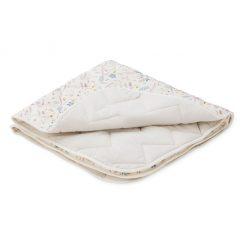 plaid-tapis-d'eveil-bébé-camcam-fleurs-detail