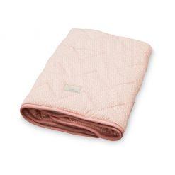 plaid-tapis-d'eveil-bébé-camcam-rose-peackok-plié